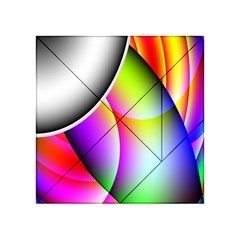Psychedelic Design Acrylic Tangram Puzzle (4  X 4 )