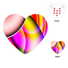 Colorful 1 Playing Cards (heart)