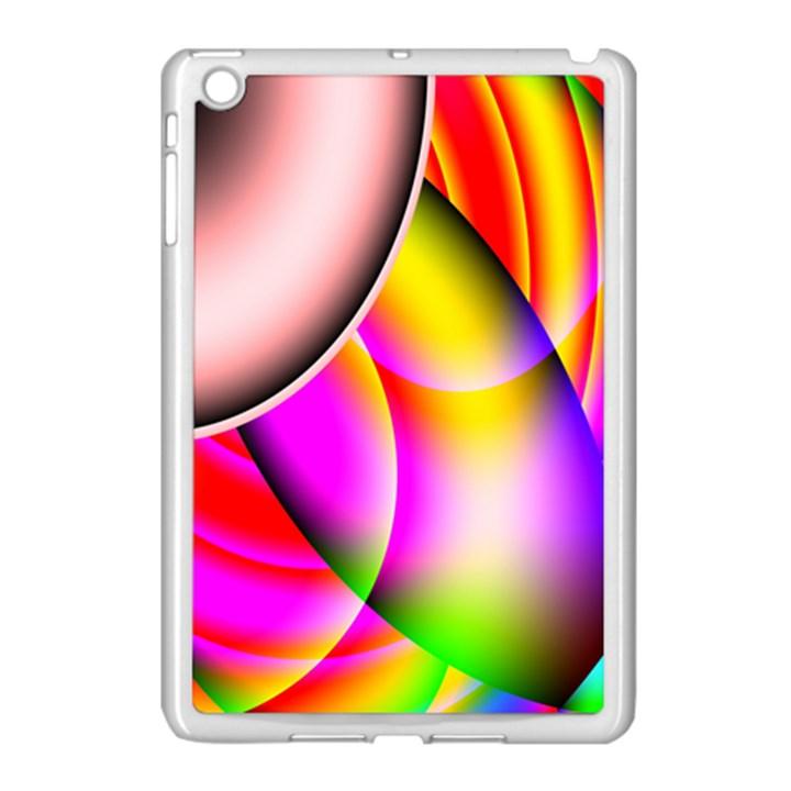 Colorful 1 Apple iPad Mini Case (White)
