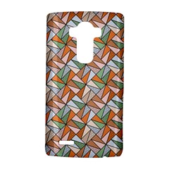 Allover Graphic Brown LG G4 Hardshell Case