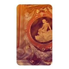 Vintage Ladies Artwork Orange Memory Card Reader