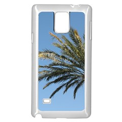 Tropical Palm Tree  Samsung Galaxy Note 4 Case (White)