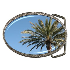 Tropical Palm Tree  Belt Buckles