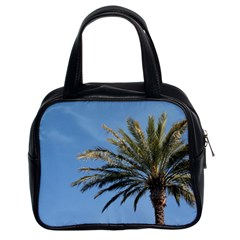 Tropical Palm Tree  Classic Handbags (2 Sides)