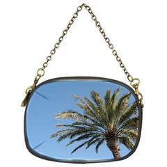 Tropical Palm Tree  Chain Purses (one Side)