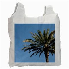 Tropical Palm Tree  Recycle Bag (one Side)
