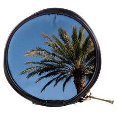 Tropical Palm Tree  Mini Makeup Bags