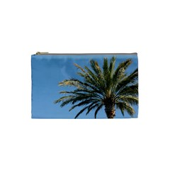 Tropical Palm Tree  Cosmetic Bag (small)