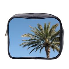 Tropical Palm Tree  Mini Toiletries Bag 2 Side