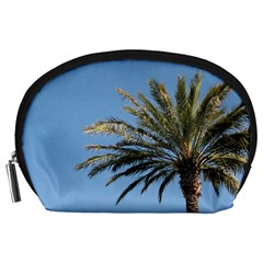 Tropical Palm Tree  Accessory Pouches (large)