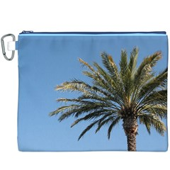 Tropical Palm Tree  Canvas Cosmetic Bag (xxxl)