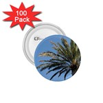 Tropical Palm Tree  1.75  Buttons (100 pack)  Front