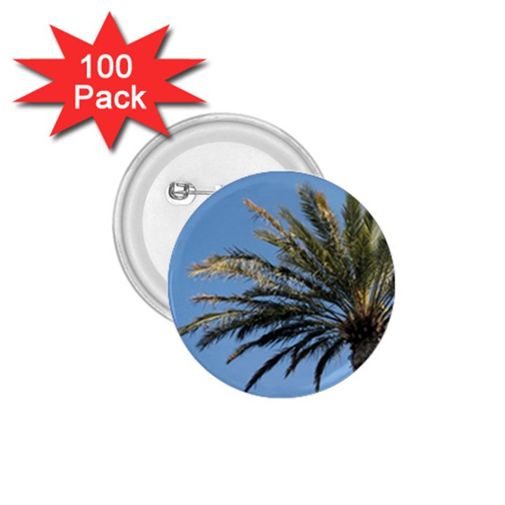 Tropical Palm Tree  1.75  Buttons (100 pack)