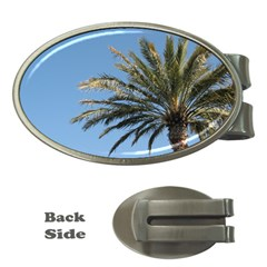 Tropical Palm Tree  Money Clips (oval)