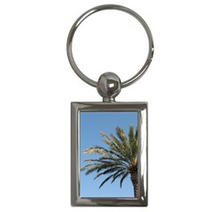Tropical Palm Tree  Key Chains (rectangle)