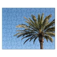 Tropical Palm Tree  Rectangular Jigsaw Puzzl