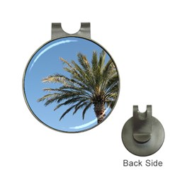 Tropical Palm Tree  Hat Clips with Golf Markers
