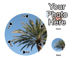 Tropical Palm Tree  Playing Cards 54 (round)
