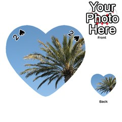 Tropical Palm Tree  Playing Cards 54 (heart)