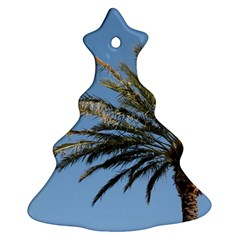 Tropical Palm Tree  Christmas Tree Ornament (2 Sides)