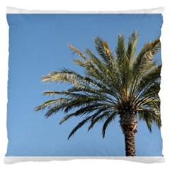 Tropical Palm Tree  Large Cushion Case (two Sides)