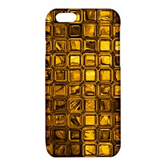 Glossy Tiles, Golden iPhone 6/6S TPU Case