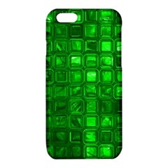 Glossy Tiles,green iPhone 6/6S TPU Case