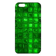 Glossy Tiles,green iPhone 6 Plus/6S Plus TPU Case