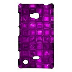 Glossy Tiles,purple Nokia Lumia 720