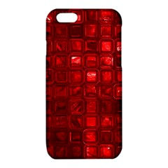 Glossy Tiles,red iPhone 6/6S TPU Case