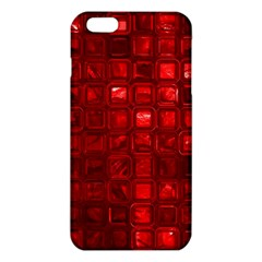 Glossy Tiles,red Iphone 6 Plus/6s Plus Tpu Case