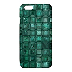 Glossy Tiles,teal iPhone 6/6S TPU Case
