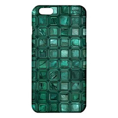 Glossy Tiles,teal iPhone 6 Plus/6S Plus TPU Case