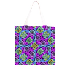 Collage Ornate Geometric Pattern Grocery Light Tote Bag