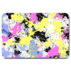 Abstract Large Doormat