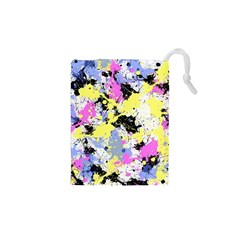 Abstract Drawstring Pouches (XS)