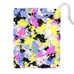 Abstract Drawstring Pouches (XXL)