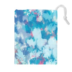 Abstract #2 Drawstring Pouches (Extra Large)
