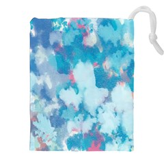 Abstract #2 Drawstring Pouches (xxl)