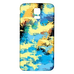 Abstract #4 Samsung Galaxy S5 Back Case (white)