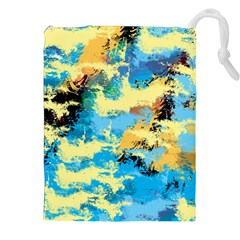 Abstract #4 Drawstring Pouches (XXL)