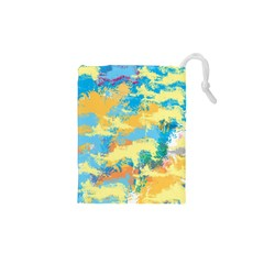 Abstract #5 Drawstring Pouches (xs)