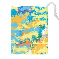 Abstract #5 Drawstring Pouches (xxl)