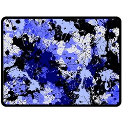 Abstract #7 Double Sided Fleece Blanket (large)
