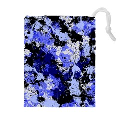 Abstract #7 Drawstring Pouches (Extra Large)