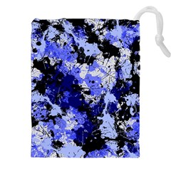Abstract #7 Drawstring Pouches (xxl)