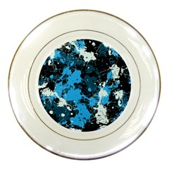 Abstract #8 Porcelain Plates