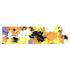 Abstract #9 Satin Scarf (oblong)