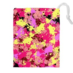 Abstract #11 Drawstring Pouches (XXL)