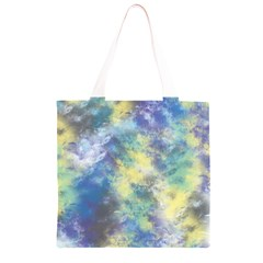 Abstract #17 Grocery Light Tote Bag